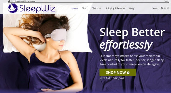 Sponsored Review: SleepWiz Luxiere™ 100% Silk Eye Mask